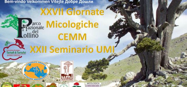 Giornate Micologiche CEMM 2019 Parco del Pollino